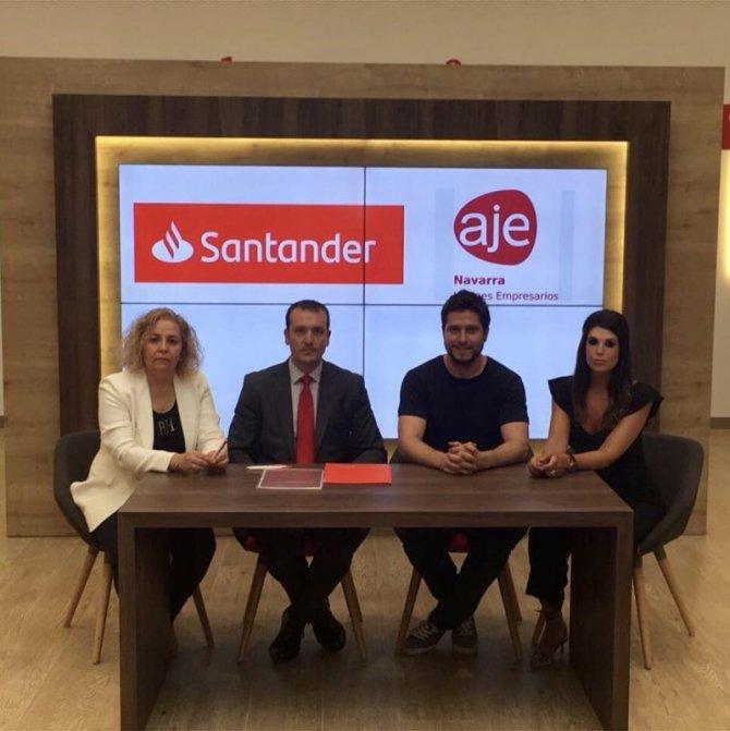 Banco Santander impulsa colaboración financiera y emprendimiento de jóvenes empresarios