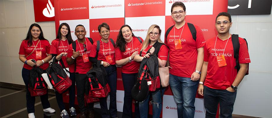 Banco Santander promueve el programa TOP España, para estudiantes y profesores brasileños