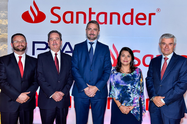 Banco Santander México inicia una alianza para el financiamiento de automóviles de la marca Peugeot en el país