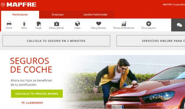 Mapfre presenta su nueva web comercial