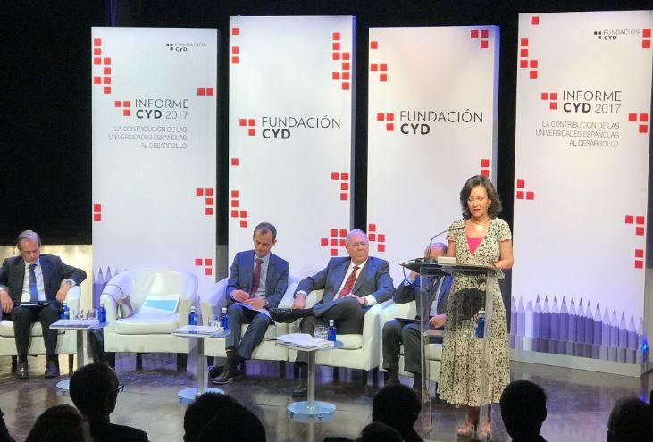 """Ana Botín (Banco Santander): """"La universidad necesita más recursos, más sostenibles y un sistema eficiente para desarrollar todo su potencial"""""""
