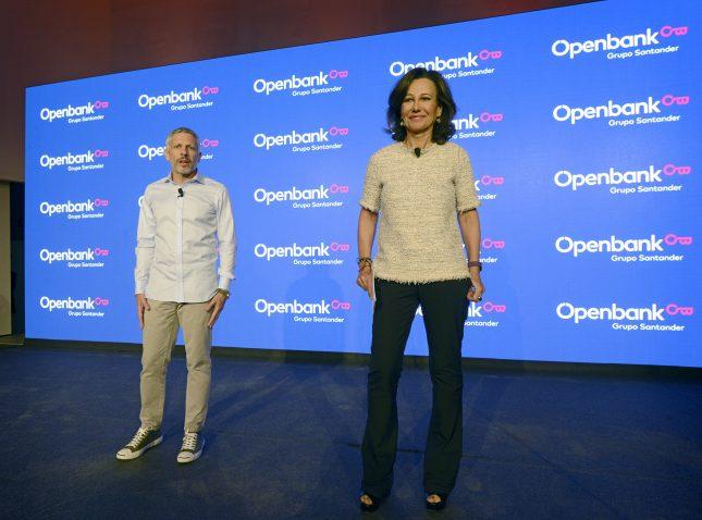 """Ana Botín (Banco Santander): """"Este año, OpenBank ha sido el banco de más rápido crecimiento en España"""""""