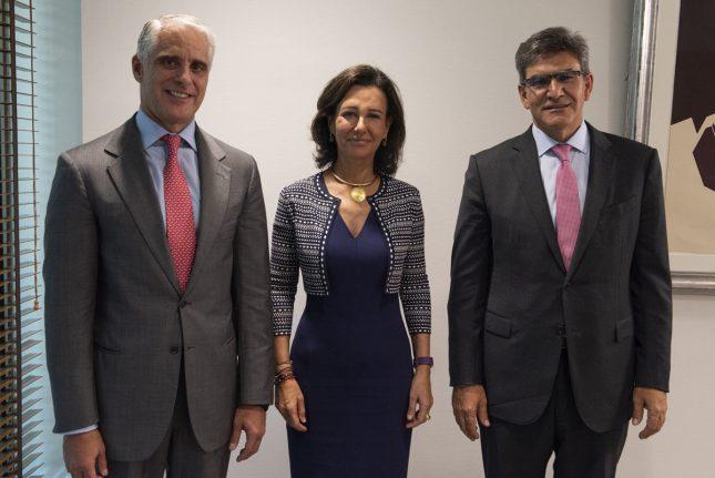 """Ana Botín: """"La experiencia internacional de Andrea Orcel y su conocimiento estratégico del negocio de banca comercial fortalecen al equipo de Banco Santander"""""""