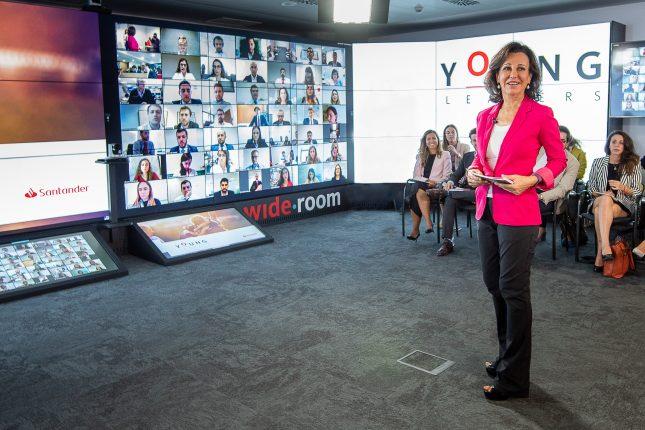 Banco Santander lanza 'Young Leaders', su programa de desarrollo de directivos