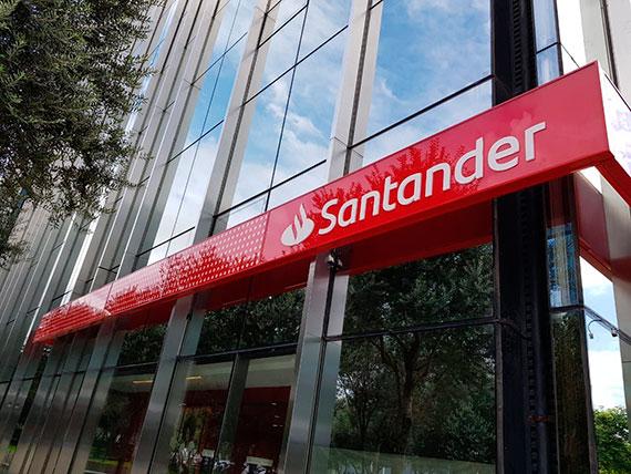 Banco Santander, líder del sistema financiero español en Líneas ICO