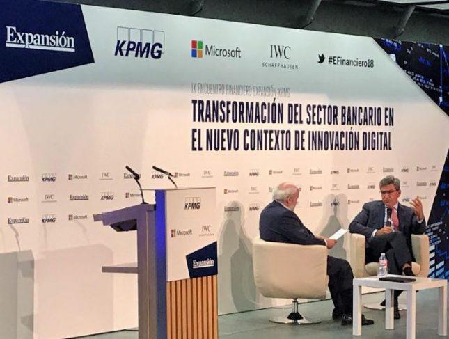 José Antonio Álvarez anuncia que Banco Santander acometerá la integración tecnológica de Popular en Portugal este fin de semana