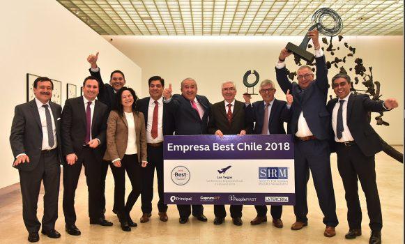 Banco Santander Chile es reconocido como Best Company for Employee Financial Future 2018