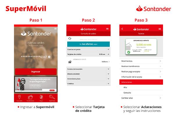 Banco Santander México añade nuevas funciones a su aplicación móvil