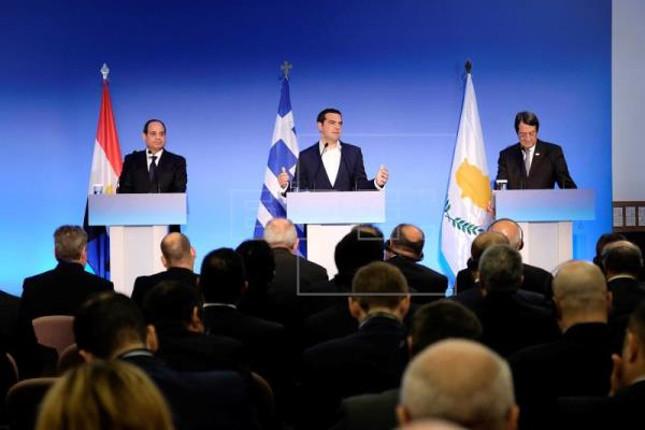 Grecia, Egipto y Chipre cooperarán en materia energética