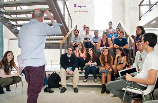 Banco Santander promueve el emprendimiento con una nueva edición de su programa Explorer 'Jóvenes con ideas'