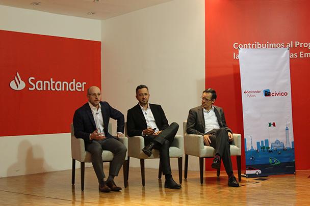 Banco Santander México y Cívico se unen para impulsar servicios bancarios a pymes