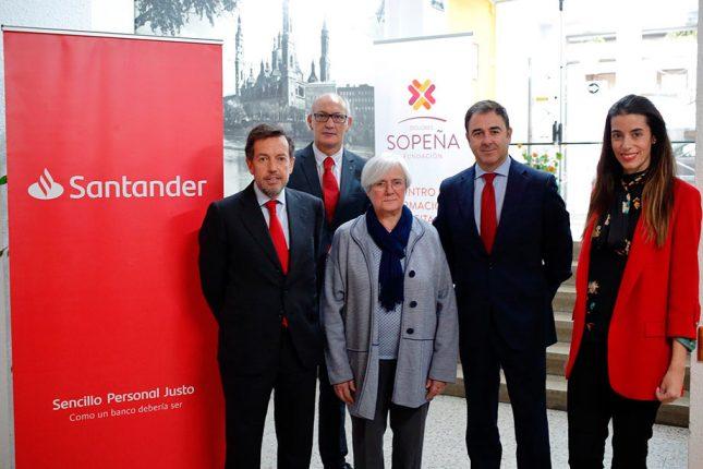 Banco Santander respalda proyectos de inserción socio-laboral en Madrid y Zaragoza