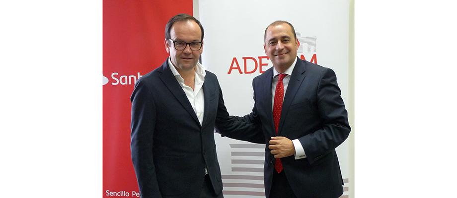 Banco Santander y ADEFAM apuestan por el desarrollo de la empresa familiar en Madrid