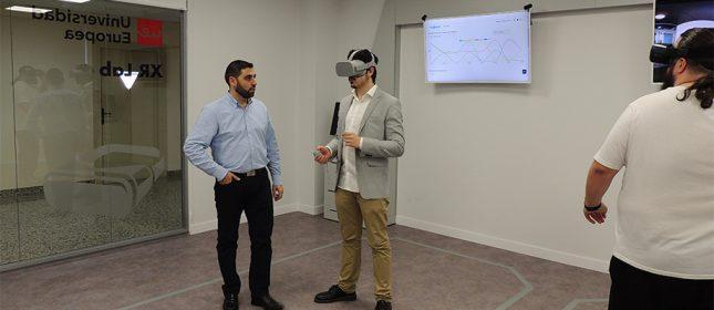 Banco Santander respalda el laboratorio de realidad virtual de la Universidad Europea