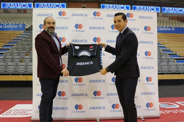 Abanca renueva patrocinio con el Breogán
