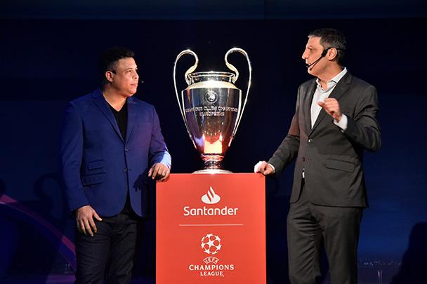 Banco Santander México invitará a más de 200 clientes a partidos de la UEFA Champions League