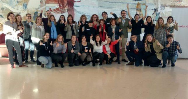 Banco Santander promueve el voluntariado corporativo