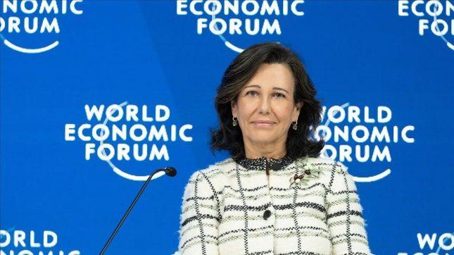 Ana Botín (Banco Santander) pide en Davos la Unión Bancaria Europea para que la región sea más competitiva