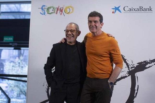 Antonio Banderas presenta el Teatro Soho CaixaBank