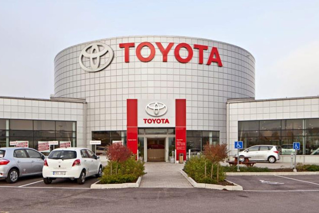 Los beneficios netos de Toyota crecen un 41%