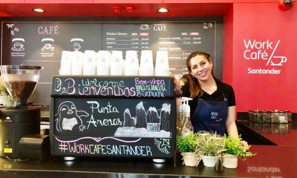 Banco Santander Chile abre un nuevo Work Café en la ciudad de Punta Arenas