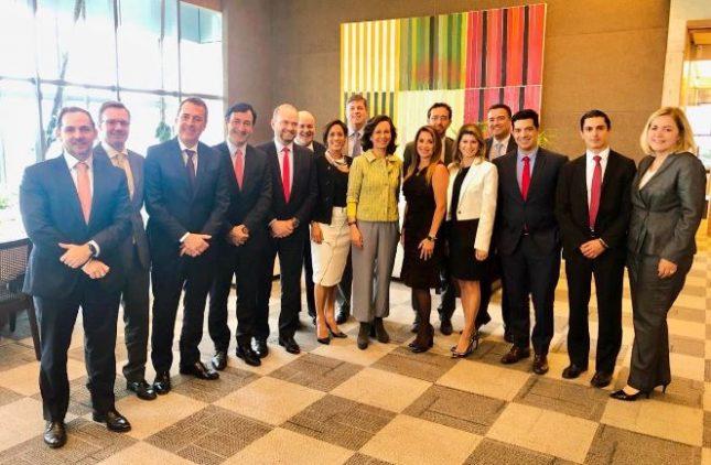 Ana Botín (Banco Santander) visita Brasil y resalta la presencia femenina en cargos directivos de la filial