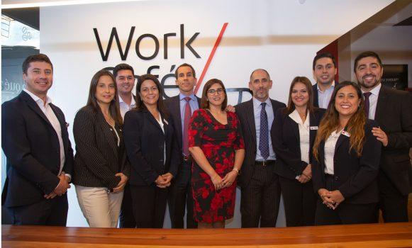 Banco Santander Chile completa más de 40 sucursales operando bajo el modelo Work Café