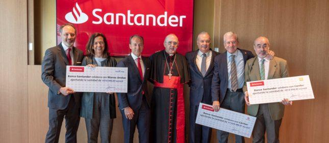 Banco Santander respalda más de 170 proyectos de inserción socio-laboral a través de un fondo solidario