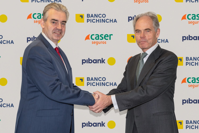 Banco Pichincha y Pibank amplían su colaboración con Caser