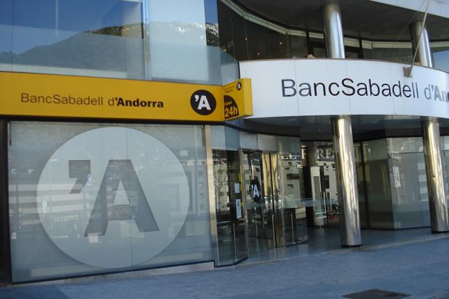 BancSabadell d'Andorra gana 10,2 millones en 2018