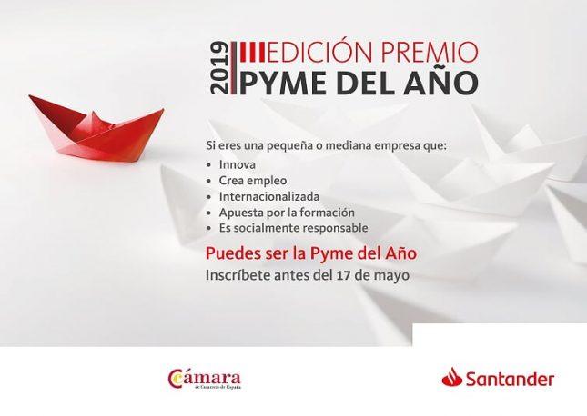 Banco Santander y la Cámara de España presentan la tercera edición del Premio Pyme del Año