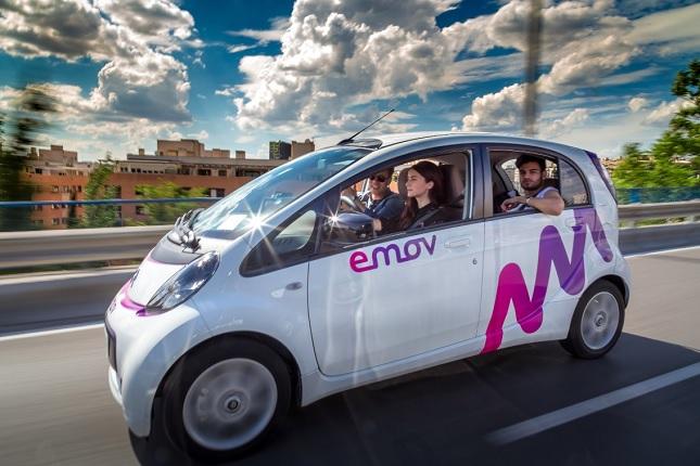 Emov incorpora vehículos comerciales eléctricos en Madrid
