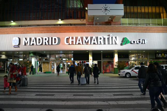 Adif invertirá 107,3 millones en la estación de Chamartín