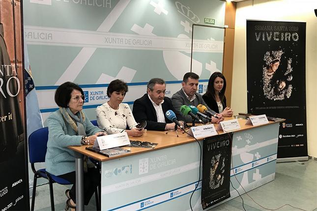 Abanca aporta 10.000 euros a la Semana Santa de Viveiro