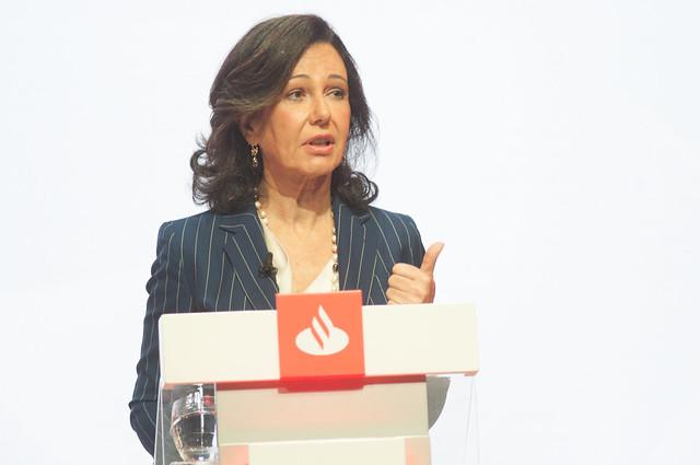 Ana Botín apuesta por que Banco Santander sea referente de diversidad e igualdad de género