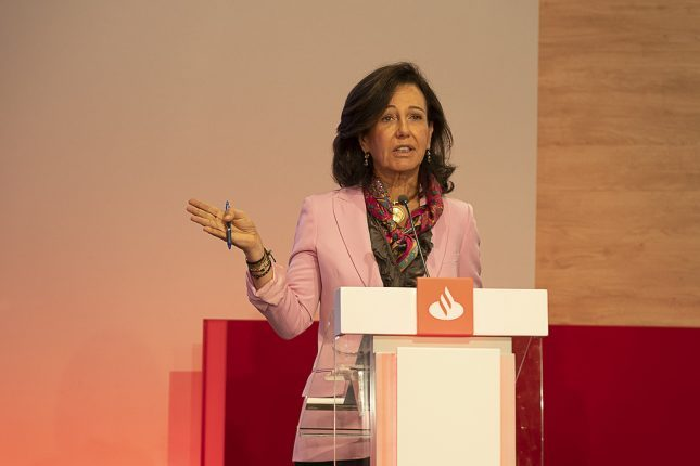 """Ana Botín (Banco Santander): """"Nuestras inversiones en digitalización y tecnología nos permitirán aumentar el crecimiento y la rentabilidad del Grupo"""""""