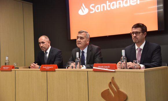 Banco Santander Chile anuncia los proyectos de inversión claves para los próximos años