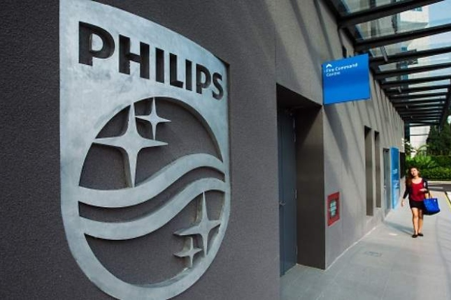 Philips gana 407 millones de euros en el primer semestre