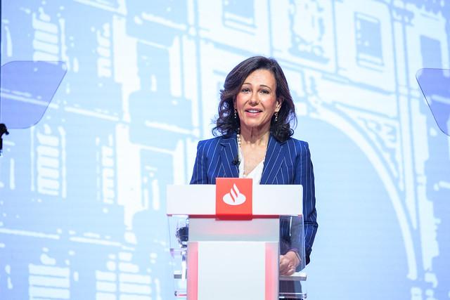 Ana Botín (Banco Santander) se suma a las voces de reflexión contra el cambio climático