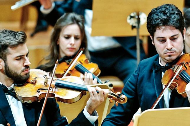 El Real Jardín Botánico inauguró el ciclo de 'Paseos Musicales' con la Orquesta Sinfónica de Bankia