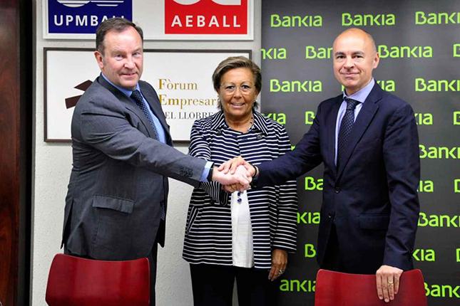 Bankia firma un acuerdo con AEBALLL