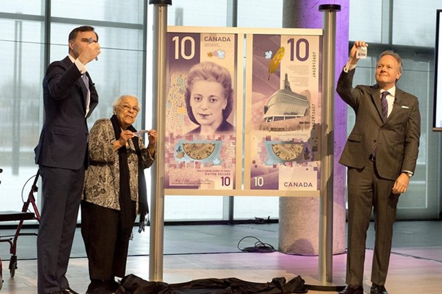 El billete de 10 dólares de Canadá es el mejor del mundo