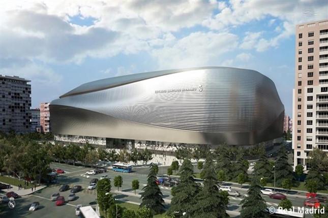 FCC ampliará el Bernabéu por 470 millones