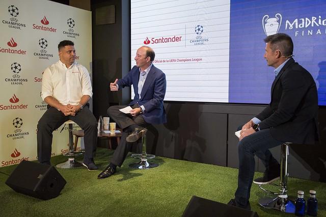 Banco Santander ejercerá de anfitrión de la final de la UEFA Champions League en Madrid
