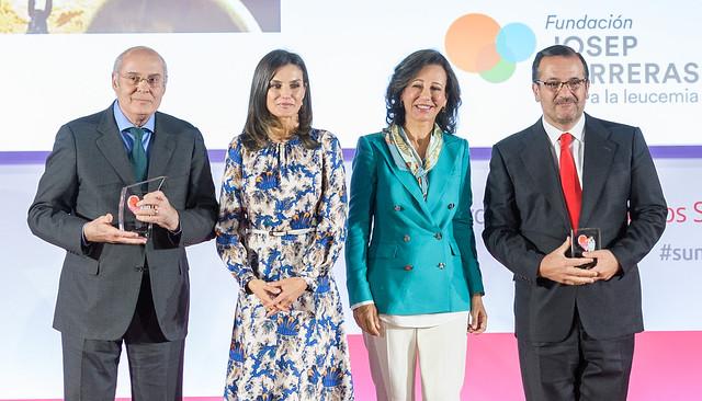 """Ana Botín destaca la solidaridad de los empleados de Banco Santander que aportan al fondo social """"Euros de tu Nómina"""""""