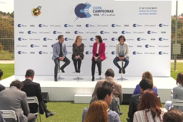 CaixaBank, Visa y la RFEF lanzan la Copa Campeonas