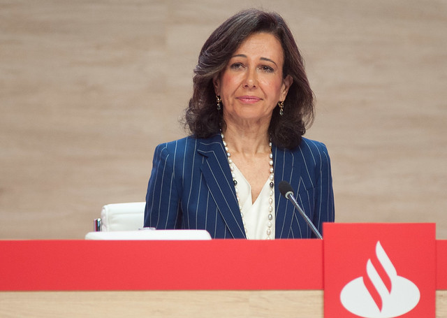 Ana Botín pide a la Unión Europea un instrumento común para abordar la crisis del coronavirus
