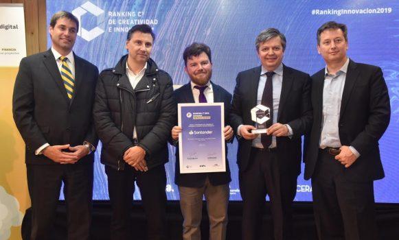 Banco Santander Chile es reconocido en Ranking de Creatividad e Innovación C3