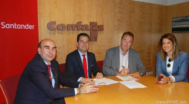Banco Santander impulsa el desarrollo empresarial en Salamanca