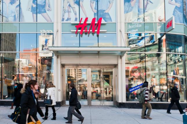 Las ventas de H&M alcanzan los 4.610 millones de euros